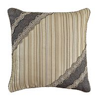 Estate by Croscill Ashfield 16'' x 16'' Fashion Throw Pillow