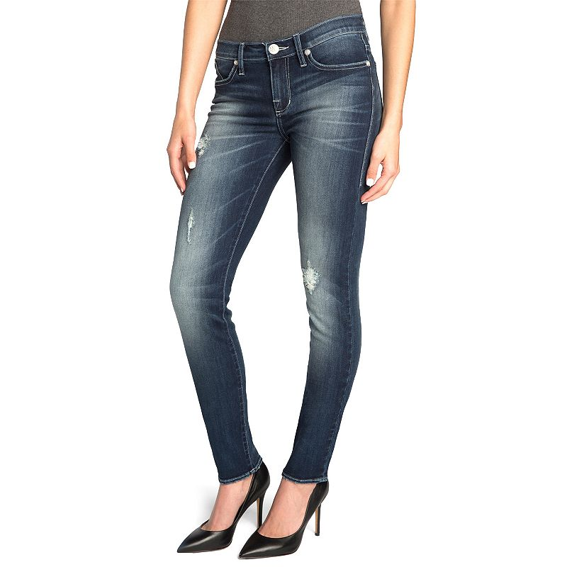 Women's Rock & Republic® Berlin Distressed Skinny Jeans