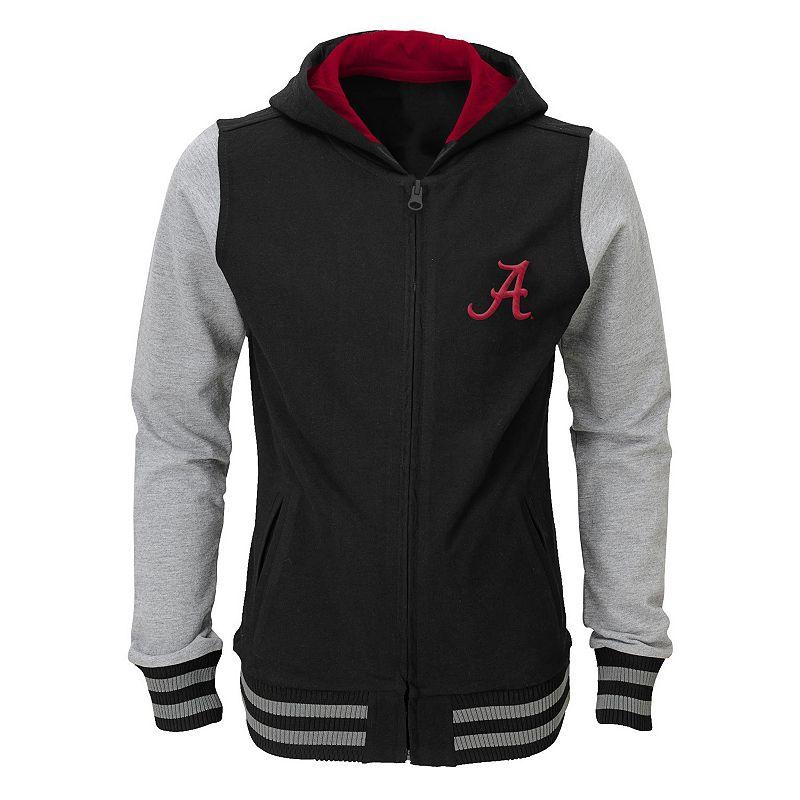 Girls 4-6x Alabama Crimson Tide Varsity Hoodie Jacket