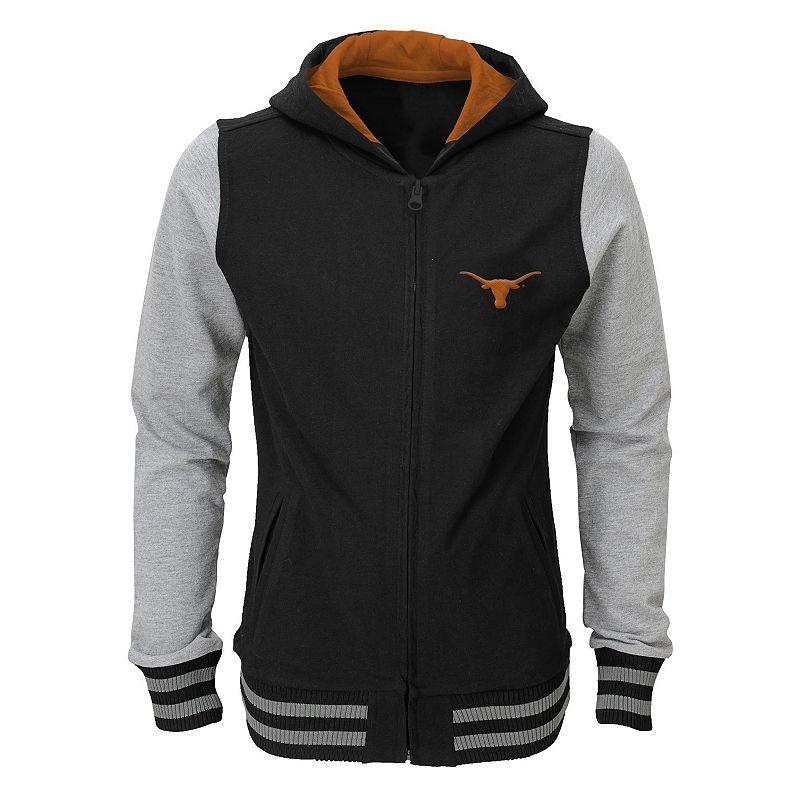 Girls 4-6x Texas Longhorns Varsity Hoodie Jacket