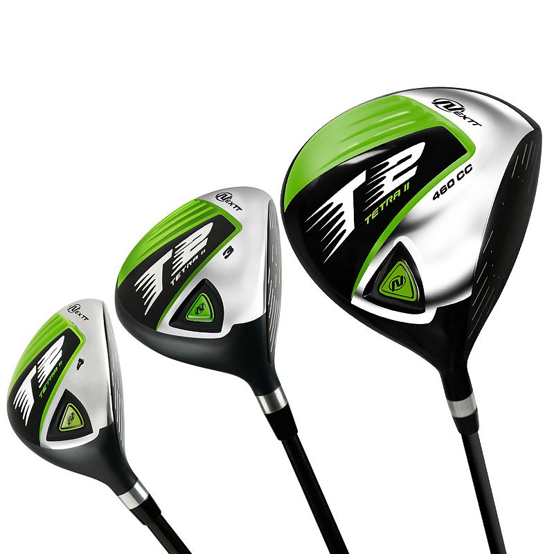 Nextt Golf T2 Platinum 5-pc. Right Hand Fairway Wood & Hybrid Set - Men's (Graphite)