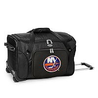 Denco New York Islanders 22-Inch Wheeled Duffel Bag