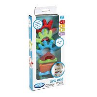 Playgro 3-pk. Link & Go Teethers Set