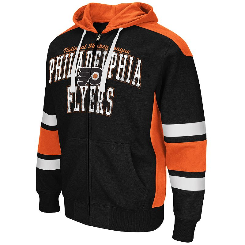Men's Philadelphia Flyers Body Checking Full-Zip Hoodie