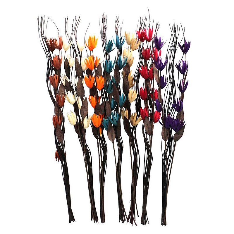 7-piece Artificial Flower Set