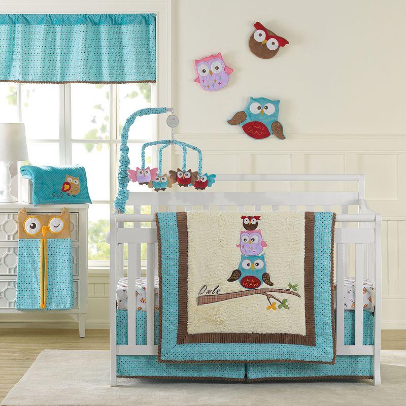 Laugh, Giggle & Smile Spotty Owls 10-pc. Nursery Set