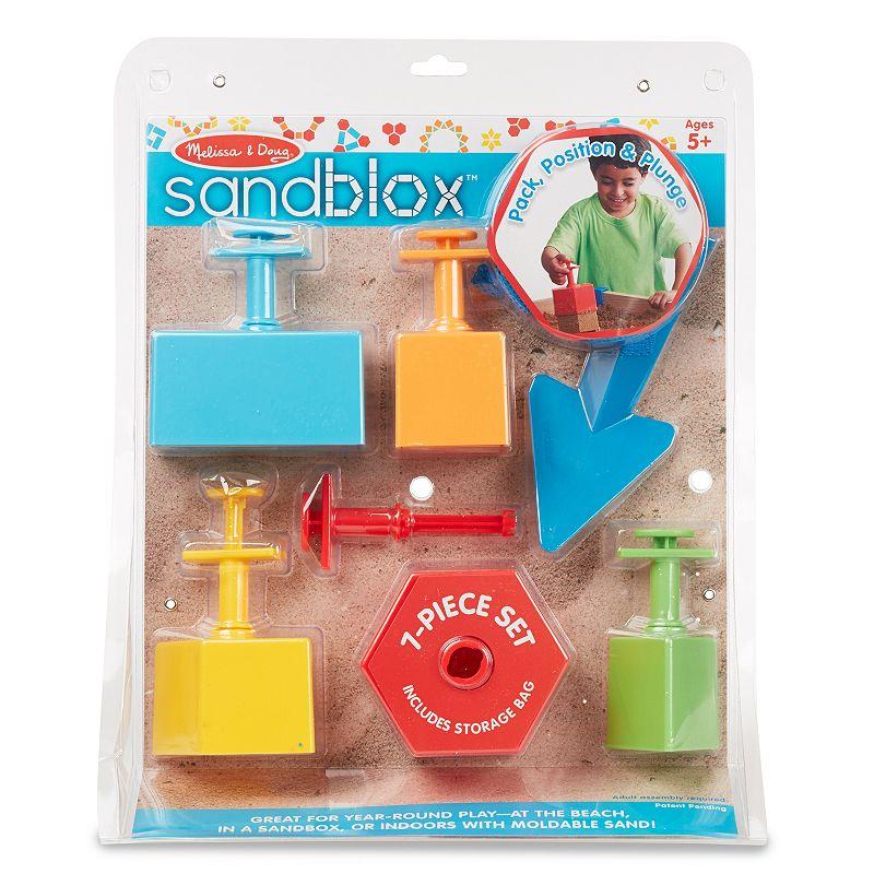 Melissa & Doug Sandblox Sand Toy Set