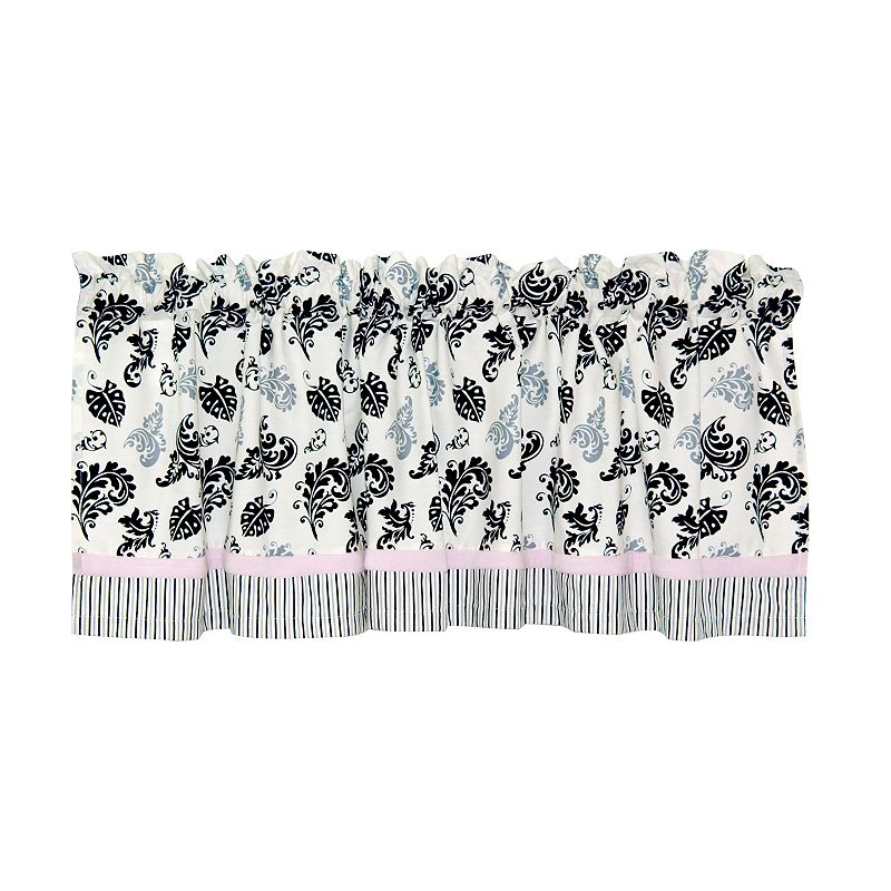 Laugh, Giggle & Smile Versailles Window Valance