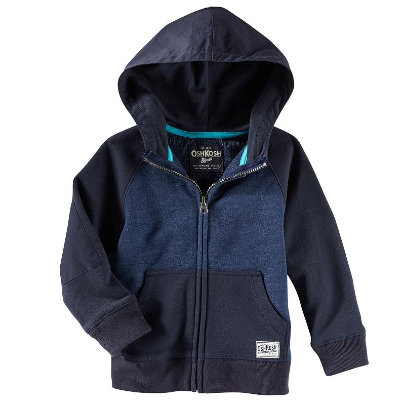 Boys 4-7 OshKosh B'gosh® Full-Zip French Terry Hoodie