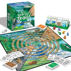 Jax Ltd. Hit the Habitat Trail Board Game
