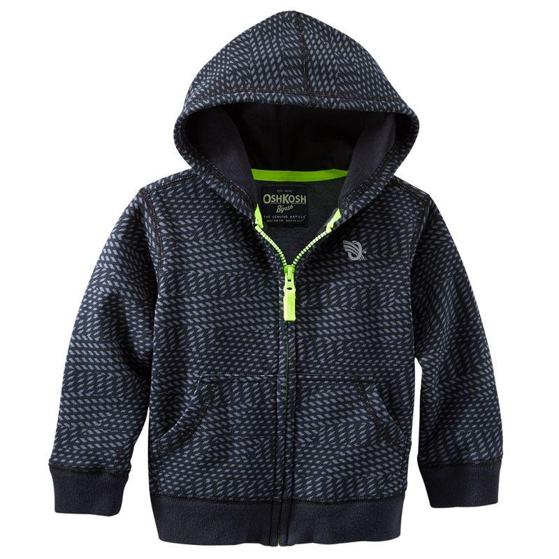 Boys 4-7 OshKosh B'gosh® Fleece Active Hoodie