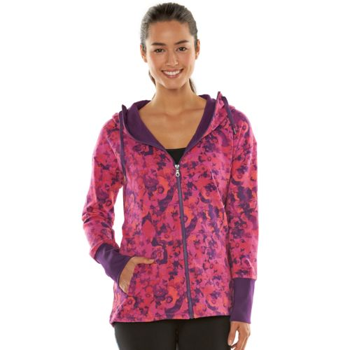 Women's Gaiam Studio to Street Joy Fleece Jacket