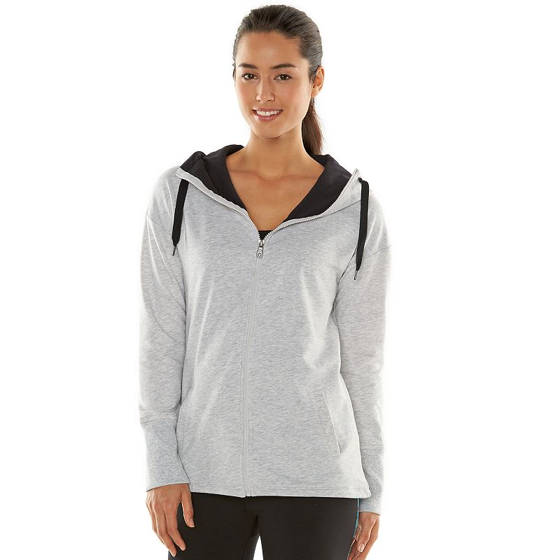 Women's Gaiam Studio to Street Gratitude Fleece Jacket