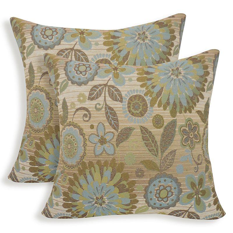 Rosita 2-piece Woven Jacquard Throw Pillow Set