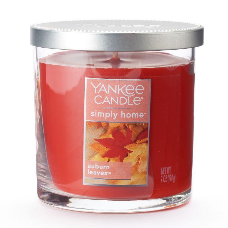 Yankee Candle Auburn Leaves 7-oz. Jar Candle (Orange)