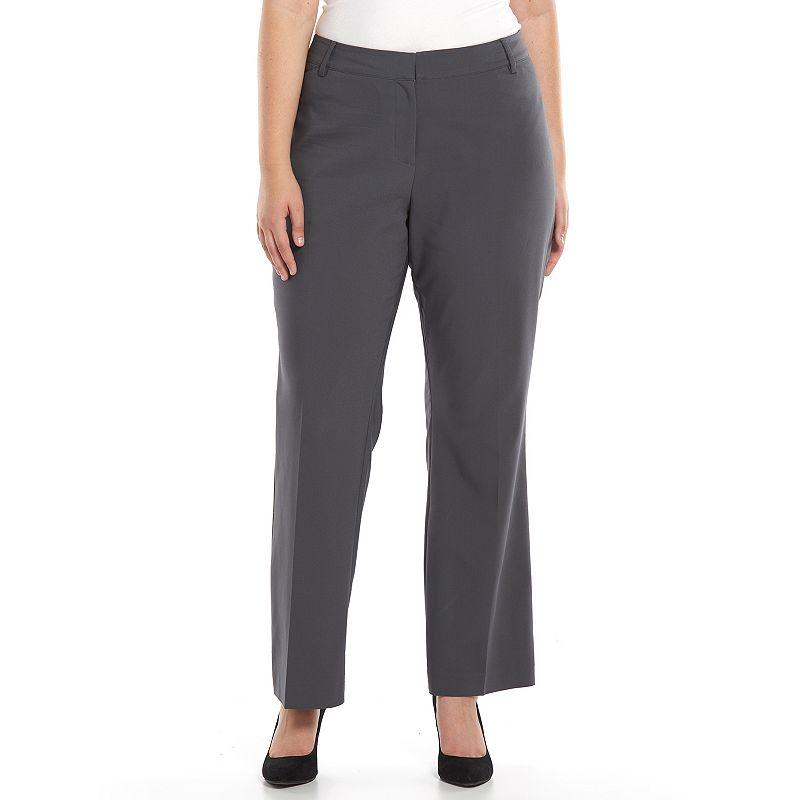 Plus Size Apt. 9® Lucca Curvy Fit Dress Pants