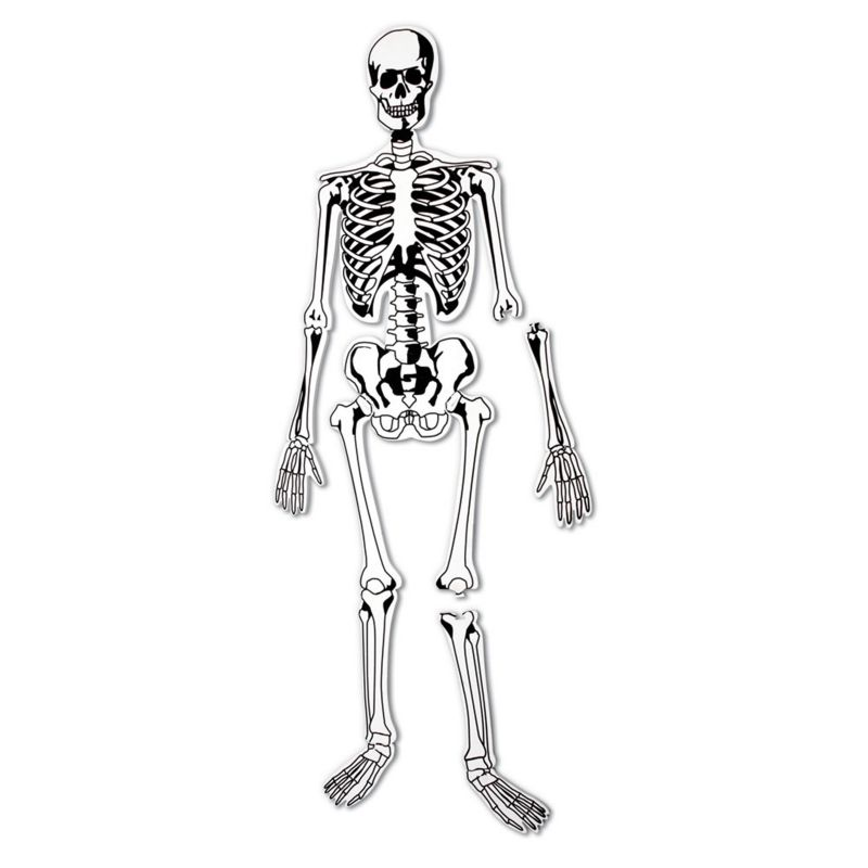 Skeleton Floor Puzzle by Learning Resources, Multicolor thumbnail