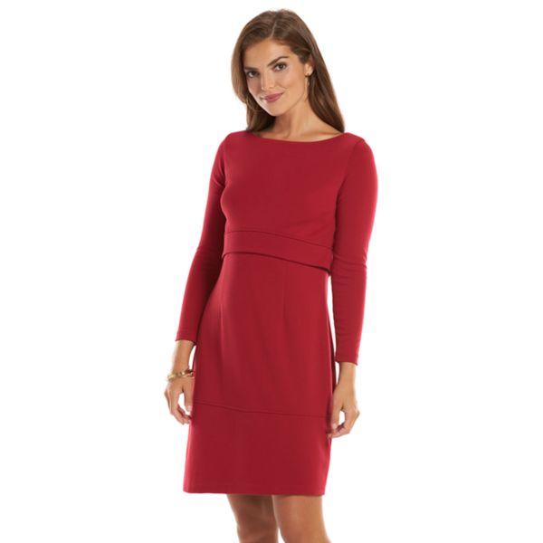 Chaps Shift Dress - Women's