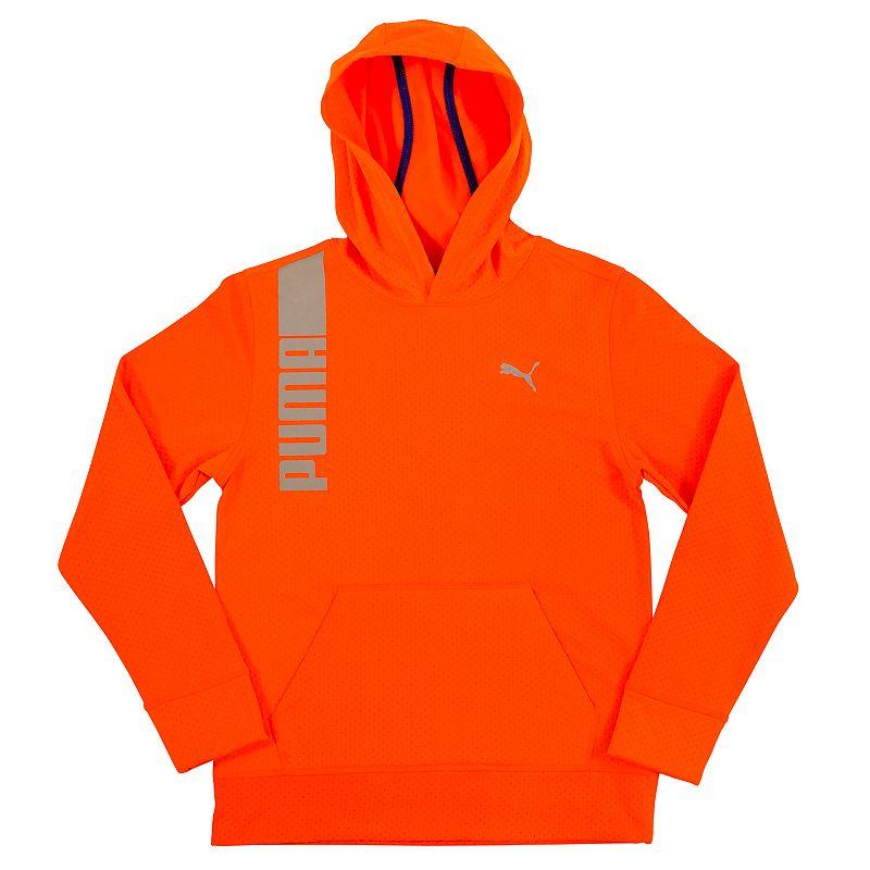 Boys 4-7 PUMA Orange Pullover Hoodie