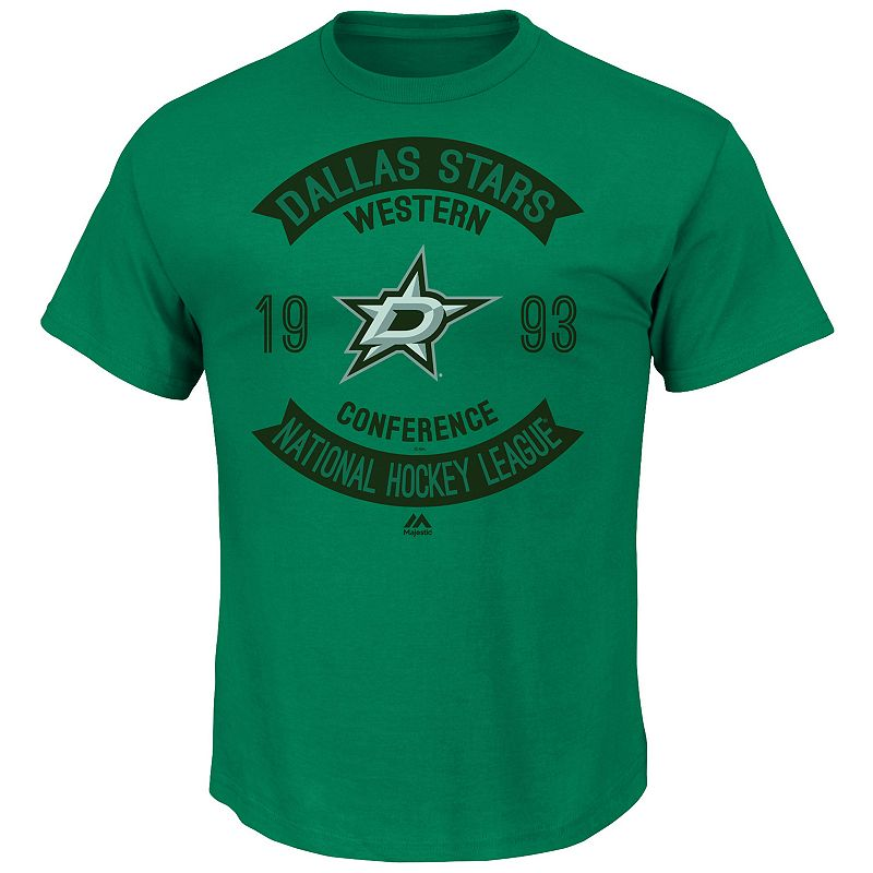 Men's Majestic Dallas Stars Executed Play Tee
