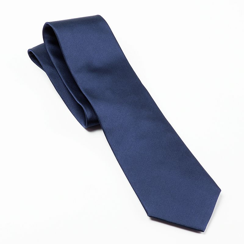Extra-Long Croft & Barrow® Solid Tie - Men