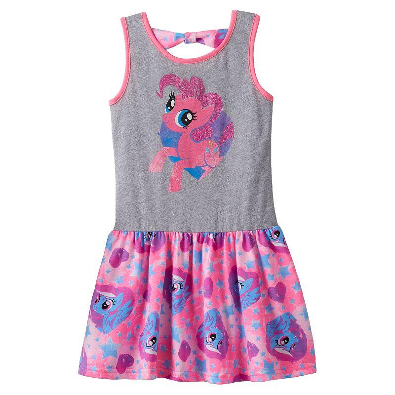 My Little Pony Pinkie Pie Heart Tank Dress - Girls - 4-6x