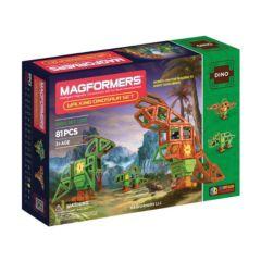 Magformers 81-pc. Walking Dinosaur Set