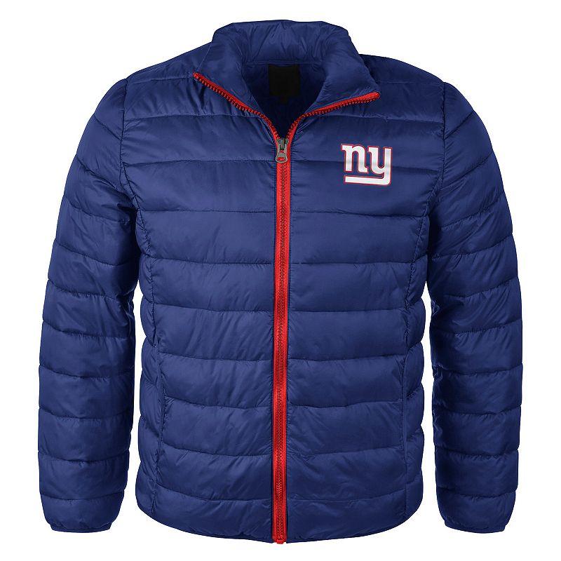 Men's New York Giants Touchdown Puffer Jacket