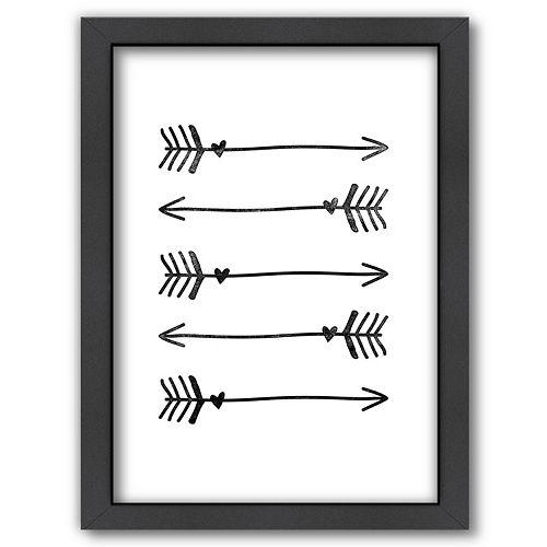 Kohls Arrow Wall Decor : Americanflat arrows framed wall art