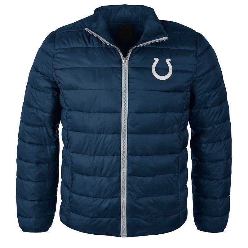 Men's Indianapolis Colts Touchdown Puffer Jacket
