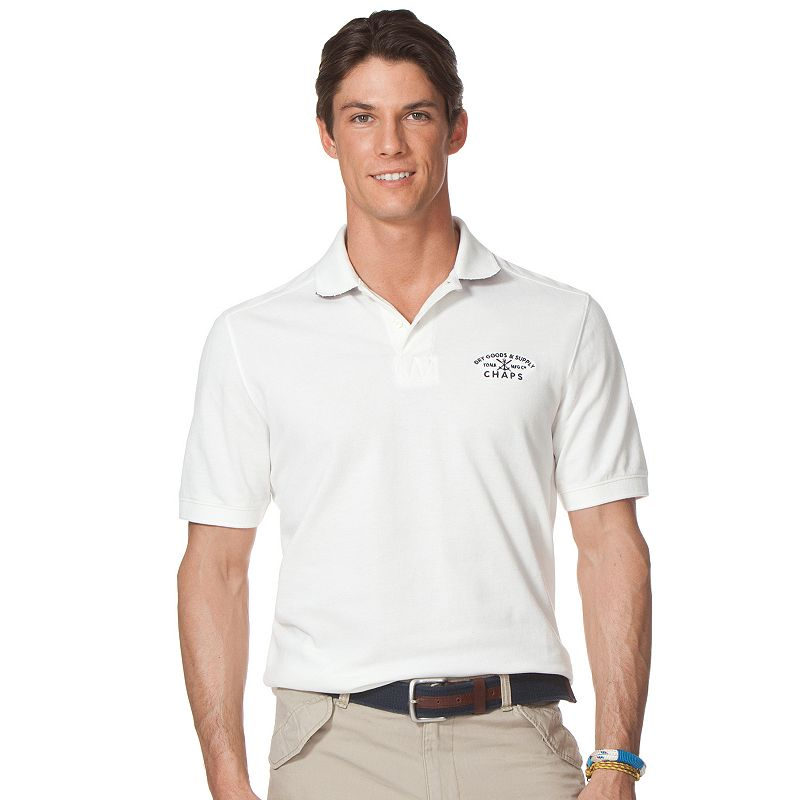 Big & Tall Chaps Eisenhower Rugby Polo