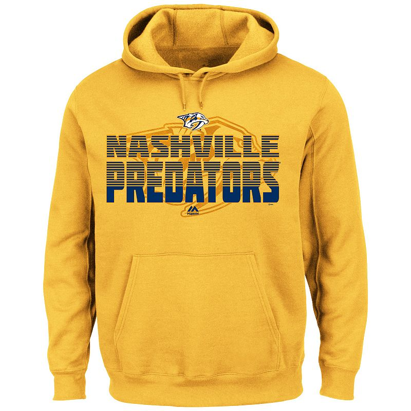 Men's Majestic Nashville Predators Call it Out Hoodie