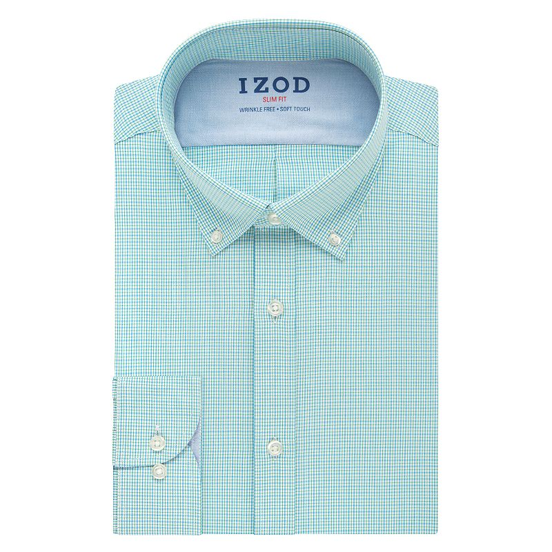 Men's IZOD Slim-Fit Performx Wrinkle-Free Dress Shirt