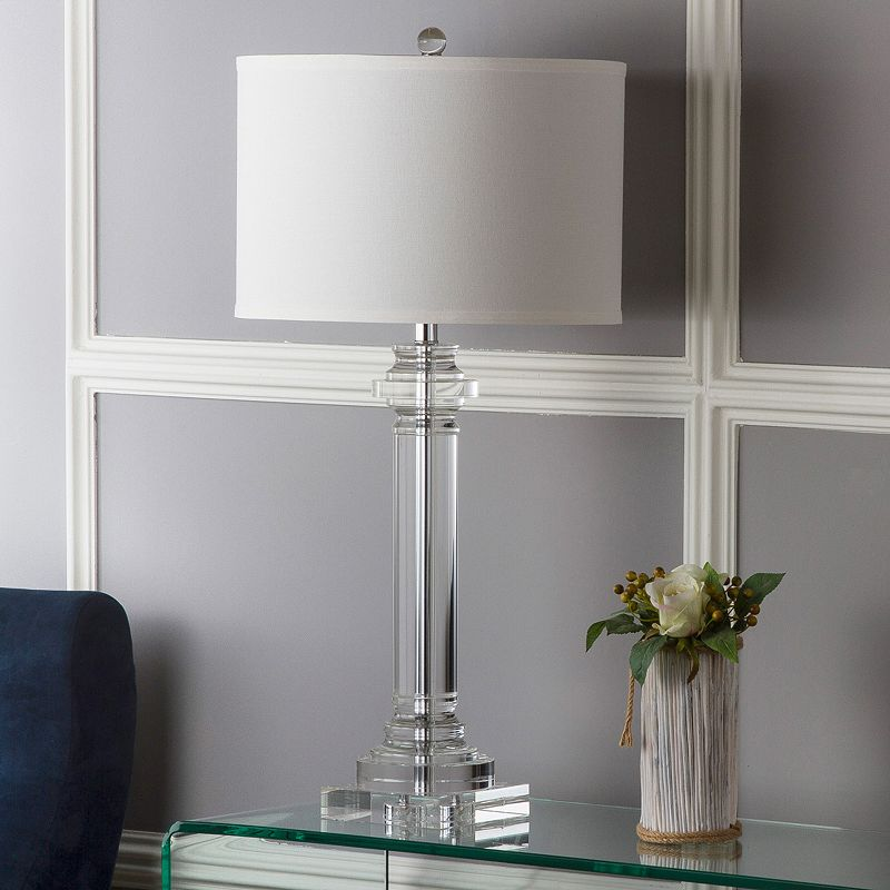 Safavieh Nina Glass Column Lamp