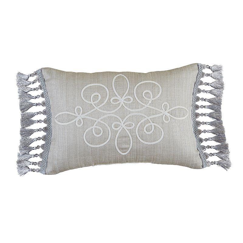 Estate by Croscill Alexandria 12'' x 18'' Boudoir Throw Pillow