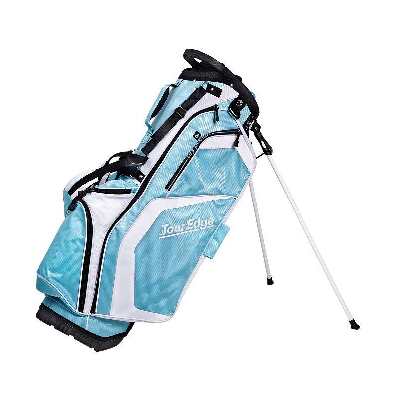 Tour Edge Golf Hot Launch Stand Golf Bag, Blue