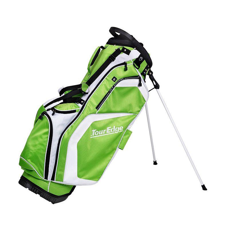 Tour Edge Golf Hot Launch Stand Golf Bag, Green