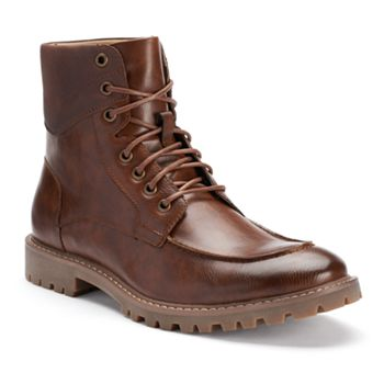 Sonoma Men's Moc-Toe Boots