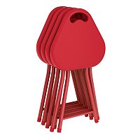 dar 4-piece Folding Stool Set