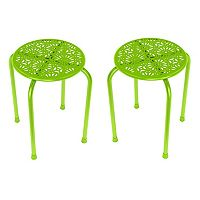 dar Daisy 2-piece Side Table Set