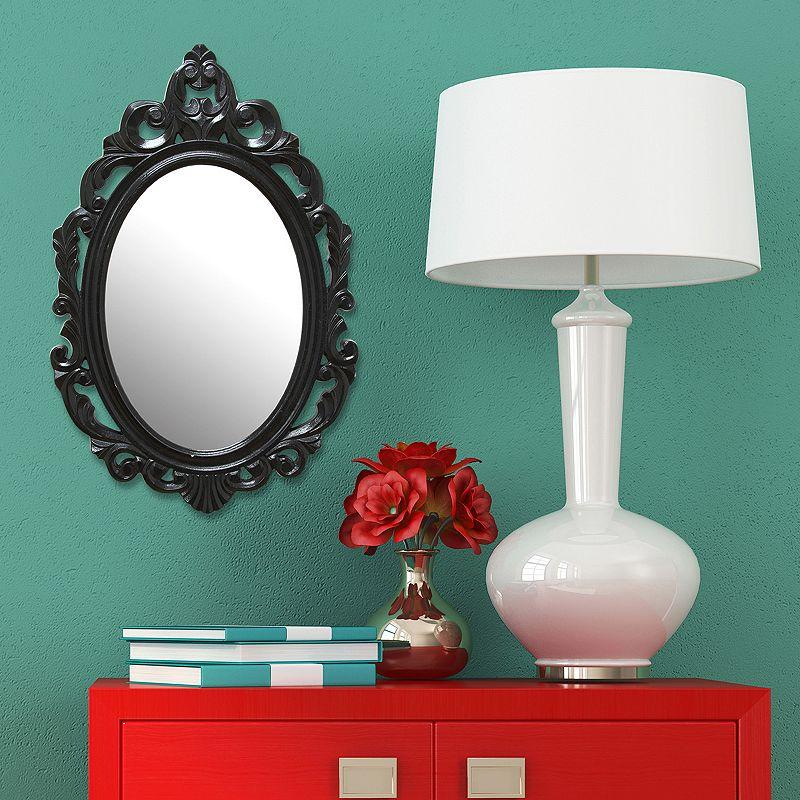 Stratton Home Decor Baroque Wall Mirror : Stratton home decor baroque teardrop wall mirror dealtrend