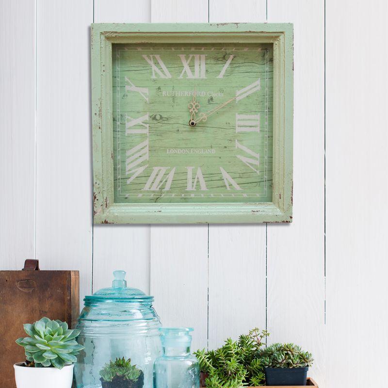 stratton home decor distressed wall clock aliexpress com buy set of 2 large wedding decoration