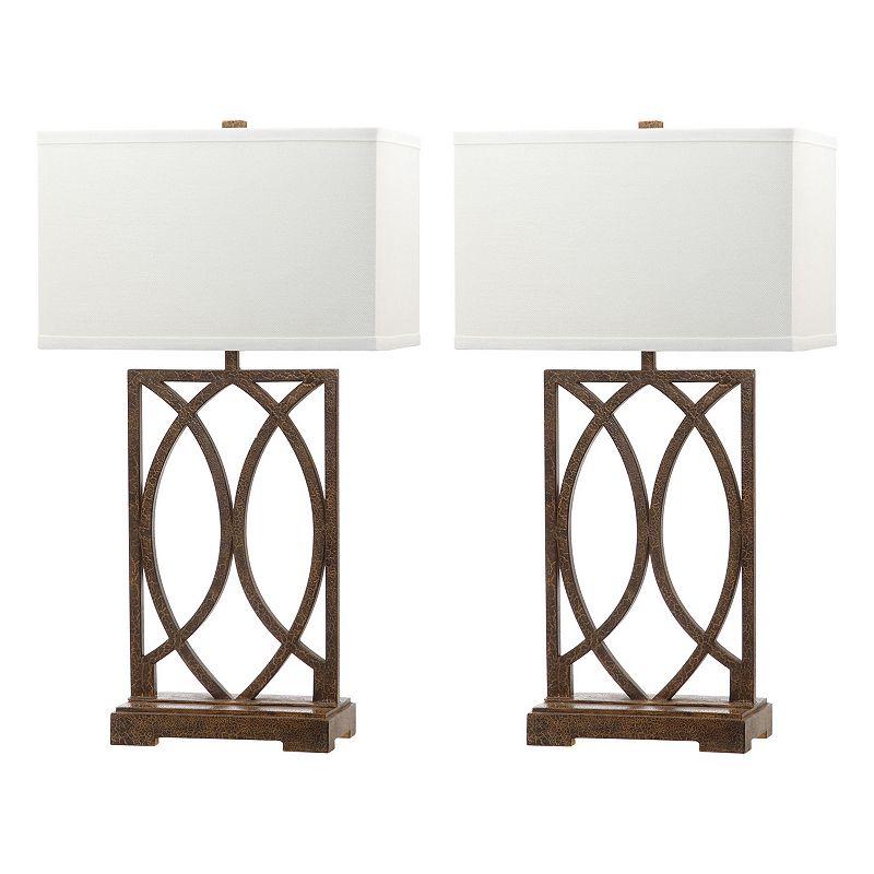 Safavieh 2-piece Jago Table Lamp Set