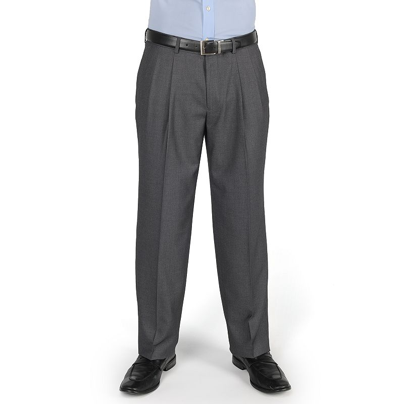 Men's Dockers® Essentials Straight-Fit Pleated Dress Pants