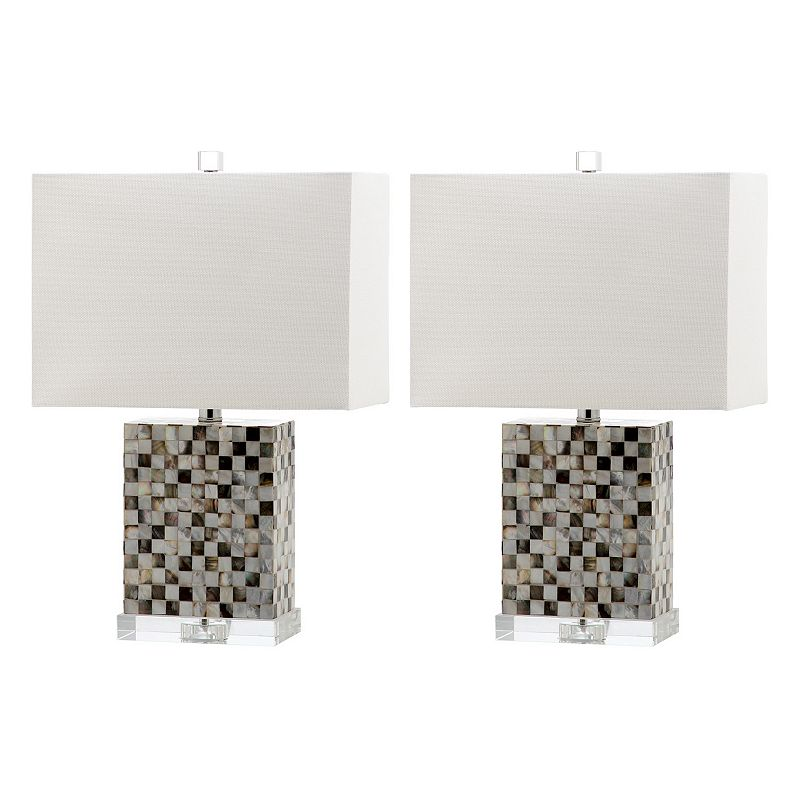 Safavieh 2-piece Thatcher Table Lamp Set
