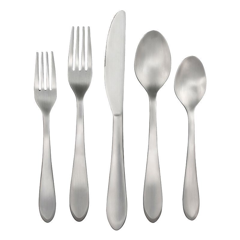 Food Network™ Ginger Satin 45-pc. Flatware Set