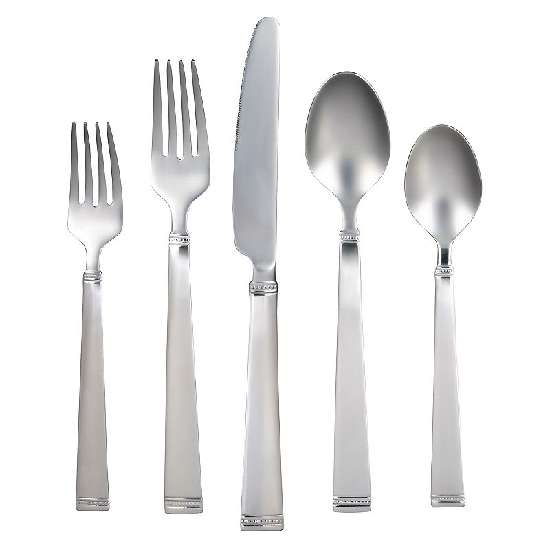 Food Network™ Fontinella Mirror 45-pc. Flatware Set