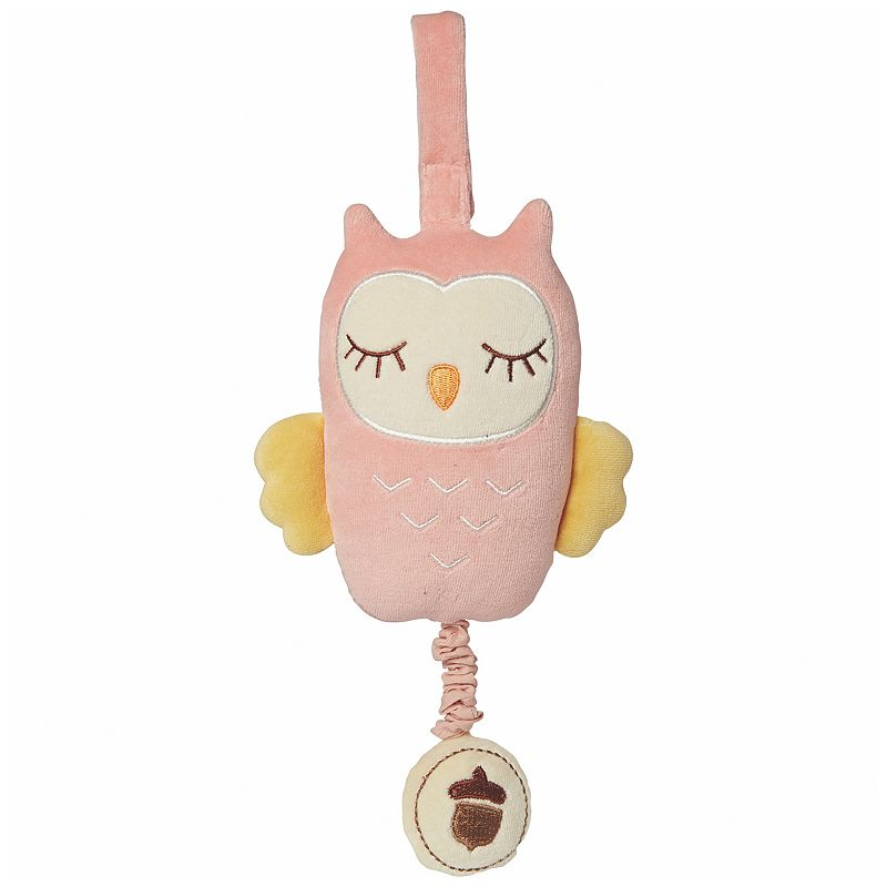 My Natural Musical Owl Pull Toy