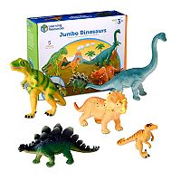 Learning Resources 5-pc. Jumbo Dinosaurs