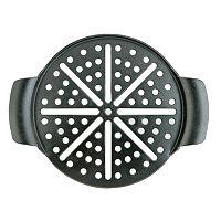 Mr. Bar-B-Q 15-in. Seasoned Cast-Iron Pizza Pan